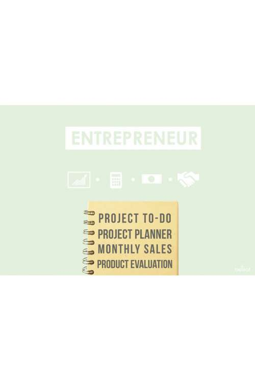 Entrepreneur Custom Notebook